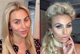 stars before and after makeup featured