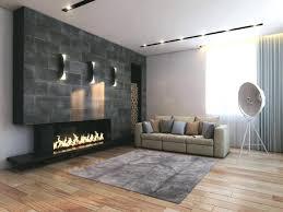 cool design ideas living room wall panels stone look floor tiles ceiling lighting decorative