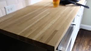 awesome butcher block countertops pt1 hardwood floor refinishing butcher block charlotte nc