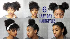 6 messy cute hairstyles for lazy days back to edition natural curly hair
