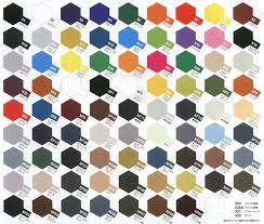 Tamiya Paint Chart Ley Lines Toffeemilkshake Tamiya Acrylic Paint Colour