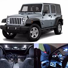 jeep wrangler 4 door interior. led white lights interior package kit for jeep wrangler jk 4door 16 leds 4 door