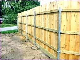 installing wood fence posts quick way to install