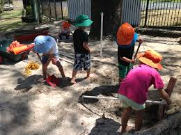 galleries broadbeach kindy sand play encourages use of our gross motor skills we also work together to obtain