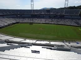 Scott Stadium View From Upper Level 506 Vivid Seats