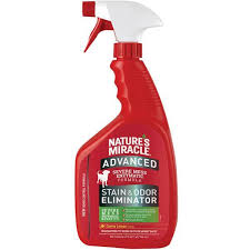 natures miracle nature s miracle advanced formula stain odour remover sunny lemon scent 946ml