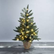 Mini Christmas Tree With Lights And Decorations