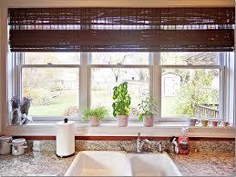 decoration calm blind color for triple slide kitchen window ideas model closed small plants decor