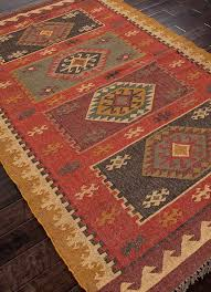 rustic area rugs 70 best southwestern rugs images on ranch decor