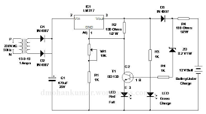 inverter battery charger with cut off electronics hobby 24 volt battery charger circuit diagram pdf at 24 Volt Battery Charger Diagram