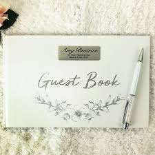 naming day gifts personalised naming day guest book fl
