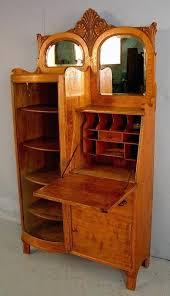 antique secretary desk with bookcase oak side secretary desk with bookcase wood stove antique oak secretary