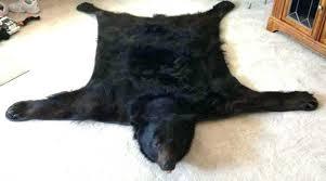 bear rug faux white faux bear rug faux bear skin rugs faux bearskin rug for living