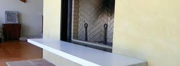 concrete fireplace mantel oak ave boulder concrete fireplace mantel shelves