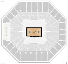 At7t Center Seating Chart The Most Awesome At T Center San Antonio Seating Chart