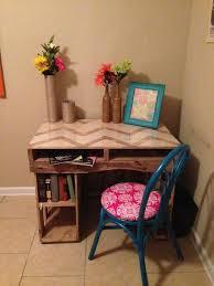 pallet furniture desk. reclaimed pallet desk furniture
