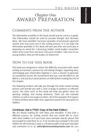 The Writer The Comprehensive Guide For Writing Awards