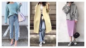 2019春夏ペールカラーが流行大人にまとめるならどう着るmine