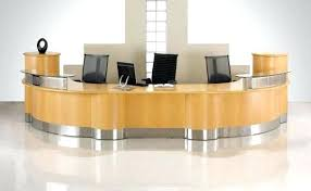 office reception desk. Two Person Reception Desk Medium Size Of Workstation Lobby Furniture Office Design Modern .