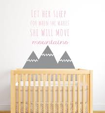 Us 698 25 Offnordic Style Mountains Quotes Wall Sticker For Kids Room Baby Nursery Decor Girls Bedroom Wall Decor Art Home Vinyl Murals A 671 In