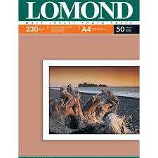 Купить <b>Фотобумага</b> для принтера <b>Lomond</b> Matt <b>А4</b> 50л <b>230г</b>/<b>м2</b> ...