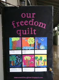 Classroom Freedom Quilt - Black History Month Display &  Adamdwight.com