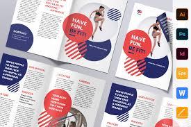 Fun Brochure Templates 100 Best Indesign Brochure Templates