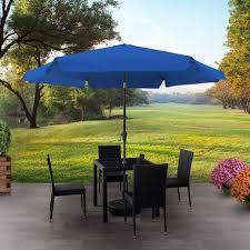 corliving 10 ft tilting patio umbrella