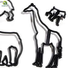 Laliva 8PCS Animal Cookie Cutter Plastic Elephant ... - Amazon.com