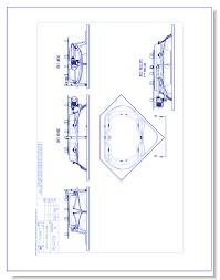 cad drawings aquatic 3860621 60 cavalcade acrylic whirlpool tub central front drain