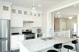 grey cabinets with white light gray quartz inspiring dark kitchen home countertops granite ca