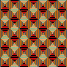 Courthouse Steps Quilt Pattern: Fast and Fun Beginner Quilt | Log ... & Courthouse Steps Quilt Pattern: Fast and Fun Beginner Quilt Adamdwight.com