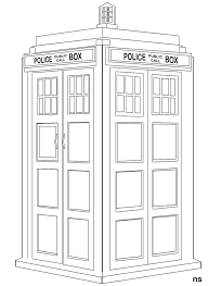 Doctor Who Coloring Pages Printable | the tardis colouring pages ...