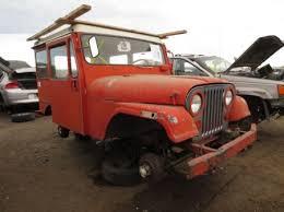 junkyard 1968 kaiser jeep dj 5a factory chevy power after