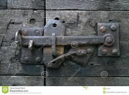 antique door latch