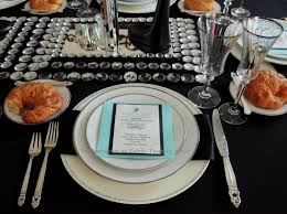 Table Setting For Breakfast Similiar Breakfast At Tiffanys Table Setting Keywords