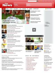 Newspaper Html Template Simple Templates Free Download Template Website For Ideas Html News