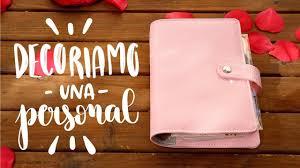 Agenda personal: decorazioni diy rosa semplici 💖 youtube