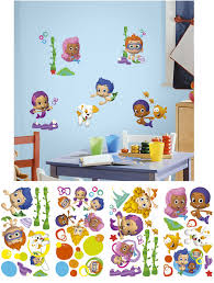 >bubble guppies peel and stick wall decals wall nickelodean wall  bubble guppies peel and stick wall decals wall sticker outlet