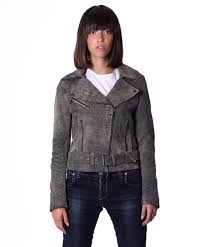 preview with zoom d arienzo women s leather jacket safari