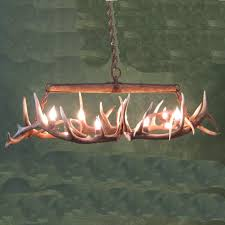 kitchen trendy elk antler chandelier 11 alluring deer horn chandeliers real roselawnlutheran 20180307110318 appealing elk antler