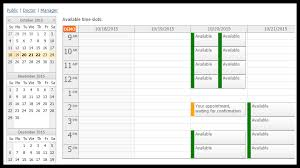 Appointment Calendar 2015 Tutorial Angularjs Doctor Appointment Scheduling Php Daypilot