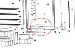 norcold door parts norcold wiring diagram, schematic diagram and Norcold 1200 Wiring Diagram norcold 1200 1210 refrigerator parts products norcold 1200 refrigerator wiring diagram