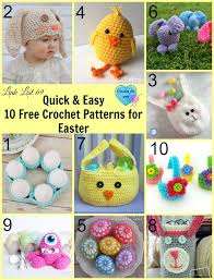 Quick And Easy Crochet Patterns Interesting Quick Easy 48 Free Crochet Patterns For Easter Crochet For You