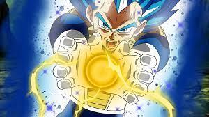 final flash Super Saiyan Blue Dragon ...