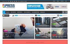 Free Html Newspaper Template 150 Free Responsive Magazine Style Blogger Templates 2019