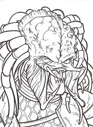 Small Picture Predator Coloring Pages Game Download Predator Coloring Pages