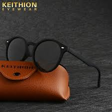 <b>KEITHION</b> Round <b>Polarized Sunglasses Men</b> Vintage Retro ...