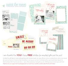 Gift Card Samples Free FREE Set Of Holiday Printables Photoshop And PSE Templates With 22