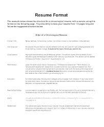 Recent Resume Format Recent Resume Formats Most Recent Resume Format